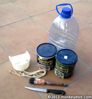 Materials Needed To Make A Plastic Bottle Bird House