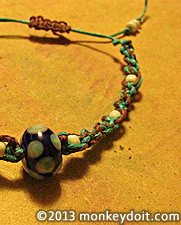 How to Create a Bracelet with a Sliding Clasp