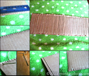How to Create a Cardboard Loom