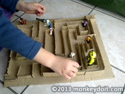 How To Make an Amazing Cardboard Maze