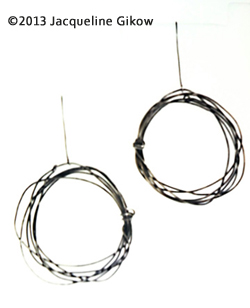 Coiled Wire Earrings
