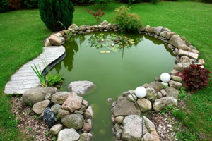 How To Make A Pond And Rocks In Your Garden