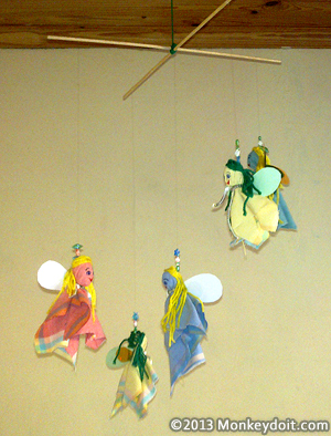 A Fairy Mobile For Children