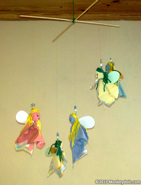 Hanging Fairy Mobile