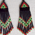How To Make Beaded Earrings With Fringe