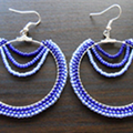 Decorate Hoop Earrings With Beads