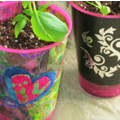Create a Fun Flower-Pot out of a Plastic Cup