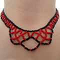 How To Make A Netted Necklace Out Of Beads