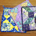 How to Make a Quilted Potholder