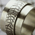 How to Make a Roller-Printed Ring