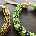 Tubular Bracelet Out Of Beads