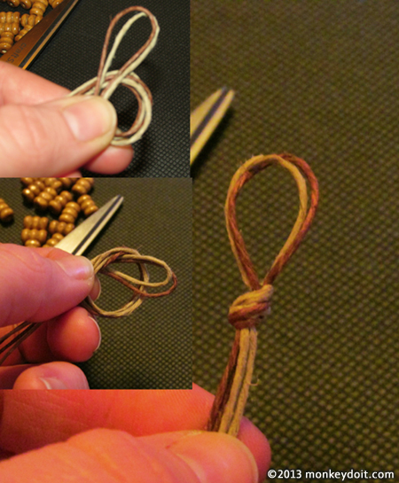Creating an Overhand Knot
