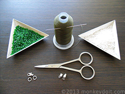 Materials Needed To Make A Netted Bracelet Out Of Beads