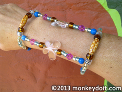 An Original Wrap-Around Arm Bracelet