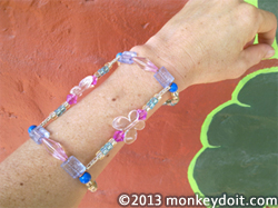 An Original Wrap-Around Arm Bracelet Design 2